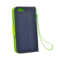 Fancy Book case for  SAMSUNG Note 10 navyfor lime