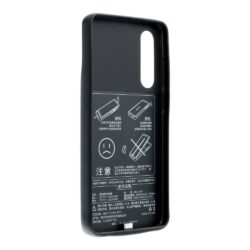 Case with power bank 4700 mAh for Huawei P30 black