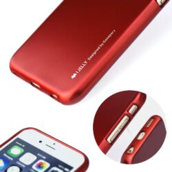 i-Jelly Case Mercury for Iphone XS Max – 6.5 red