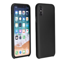 Forcell Silicone Case for SAMSUNG Galaxy A10 black