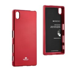 Jelly Case Mercury for Samsung Galaxy S9  red