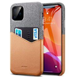ESR Metro Wallet case for iPhone 11 ( 6.1 ) gray brown