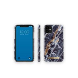 iDeal Of Sweden for iPhone 11 Midnight Blue Marble