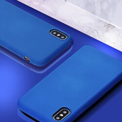 Forcell SILICONE LITE Case for SAMSUNG Galaxy S10 PLUS blue