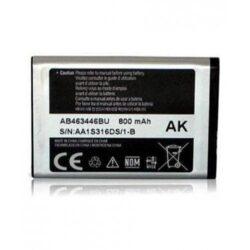 Aku ORG Samsung X200 800mAh AB553446BU / X630 / C300 / C3300K / C3520 / B300 / C5212 / E1170 / D520 / B130 / E1200 AB463446BU