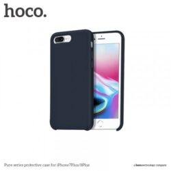 """Case """"Hoco Pure Series"""" Apple iPhone 7 Plus / 8 Plus blue"""