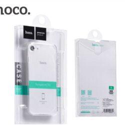 """Case """"Hoco Light Series TPU"""" Apple iPhone 7 Plus / 8 Plus transparent black"""