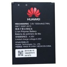 Aku Huawei HB554666RAW for Modem E5375 EC5377 E5373 E5356 E5351 E5330 EC5377U-872 1500mAh
