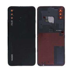 Back cover for Huawei P20 Lite black (Midnight Black) original (used Grade A)
