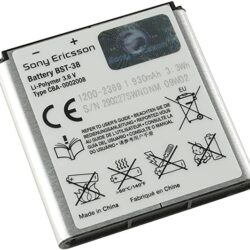 Aku original Sony Ericsson BST-38 C902i / K850i / S500i / T303 / W980i / Z780i 930mAh (used Grade B)
