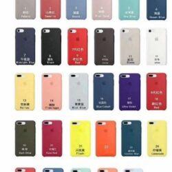 "Cases ORG ""Silicone Case"" iPhone 7 / 8 / SE2"