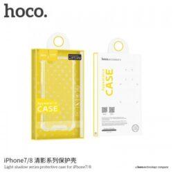 "Case ""Hoco Delicate Shadow Series"" Apple iPhone X black"