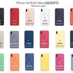 """Cases ORG """"Silicone Case"""" iPhone X / XS"""