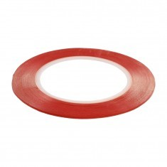 Double side adhesive tape for touchscreens 5mm transparent