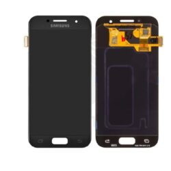 Ekraan Samsung  A320 A3 (2017) with touch screen black original (service pack)