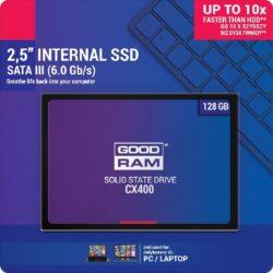 Hard drive SSD GOODRAM CX400 128GB (6.0Gb  /  s) SATAlll 2,5