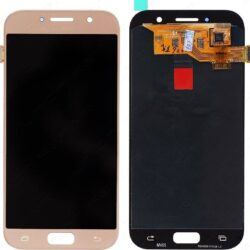 Ekraan Samsung  A520 A5 (2017) with touch screen gold (TFT version, adjustable brightness) HQ
