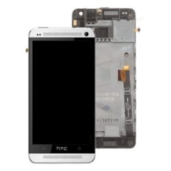 LCD screen  HTC One Mini with touch screen and frame white original (used Grade C)