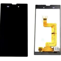 LCD screen Sony D5103 Xperia T3 with touch screen and frame black original (used Grade C)
