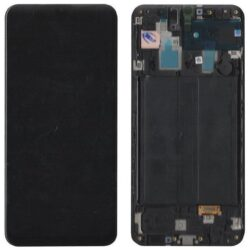 Ekraan Samsung A305 A30 2019 with touch screen black original (service pack)