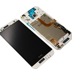 LCD screen  HTC One Mini 2 (M8) with touch screen and frame white original (used Grade C)