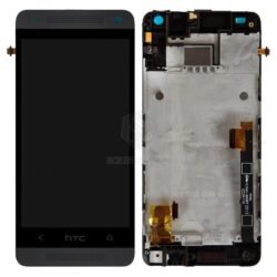 LCD screen  HTC One Mini (M4) with touch screen and frame black original (service pack)