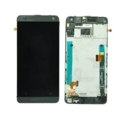 LCD screen  HTC One Mini (M4) with touch screen and frame silver original (used Grade B)