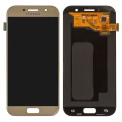 Ekraan Samsung  A520 A5 (2017) with touch screen gold (OLED) HQ